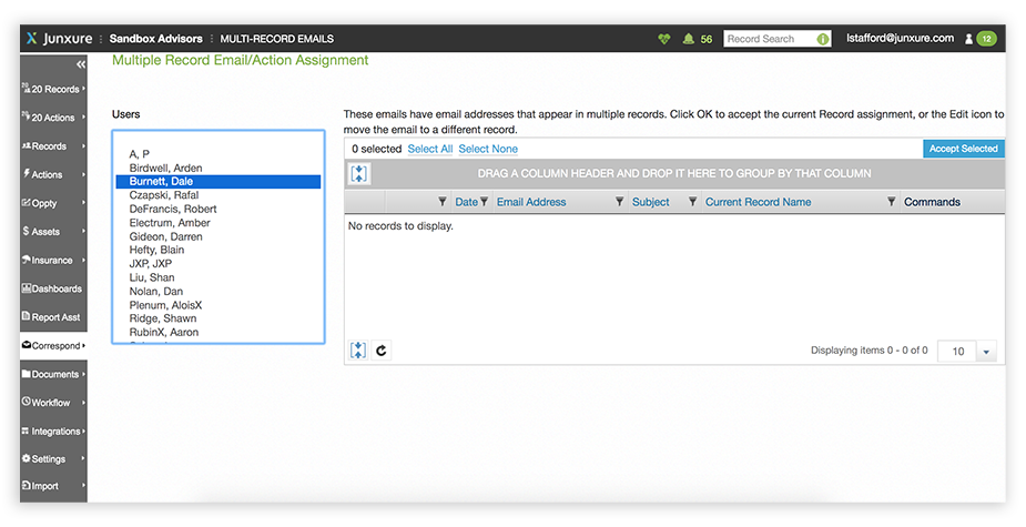 Junxure-CRM-Client-Communication-Email